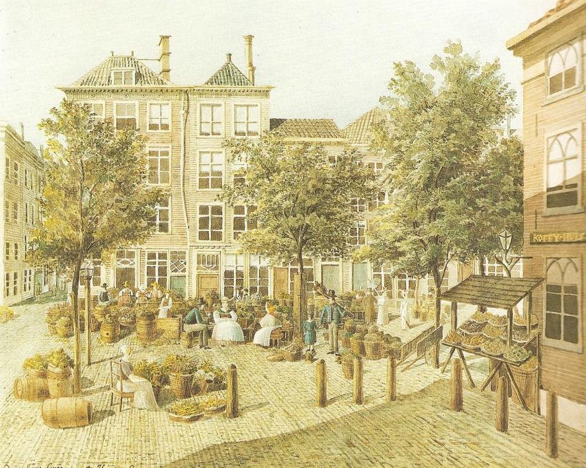 Der_klyne_Groenmarkt_-_Aquarell_von_Felix_Mendelssohn_Bartholdy_1836
