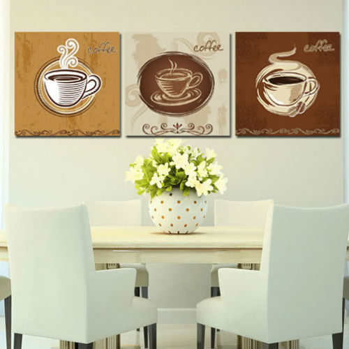 3-Piece-Free-Shipping-Hot-Sell-Modern-Wall-Painting-Coffee-Cup-Still-Life-Wall-Art-Picture