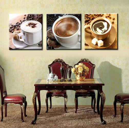 Без-рамы-3-панель-питание-и-чашки-кофе-чай-современная-печать-холст-на-стене-в-искусстве