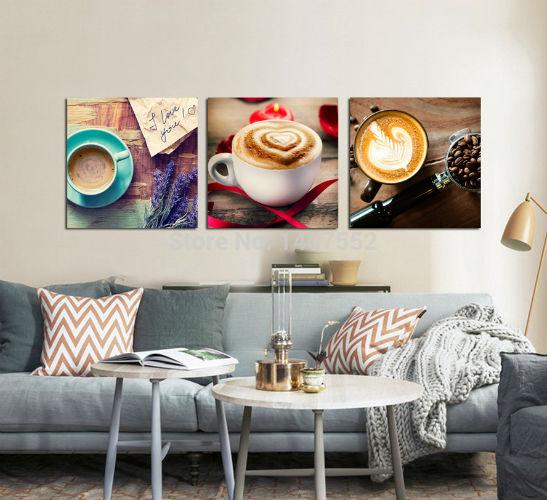 Бесплатная-доставка-продать-3-шт-кофе-искусство-живописи-роспись-стен-домашнего-декоративное-искусство-искусстве-краска-на