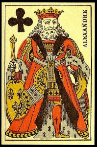 треф король 1