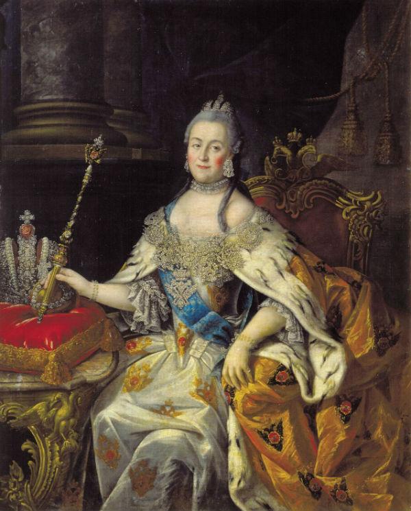Антропов - Екатерина II