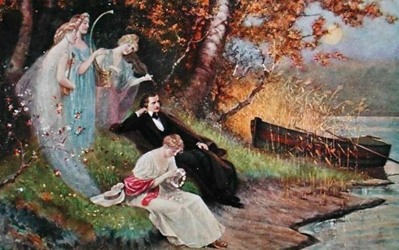 Карл Швенингер - Роберт Шуман с музами - 1910.jpg
