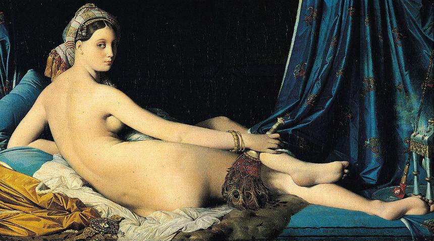 Большая одалиска - Жан Огюст Доменик Энгр - 1814.jpg