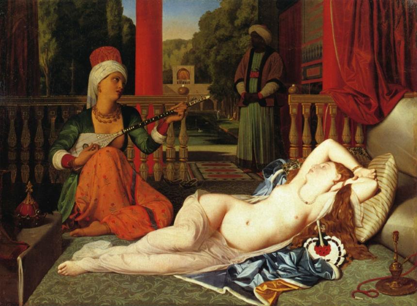 Одалиска с рабыней - Жан Огюст Доменик Энгр - 1842.jpg
