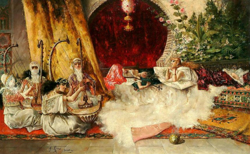 Музыка в гареме - Антонио Ривас (1845-1911).jpg