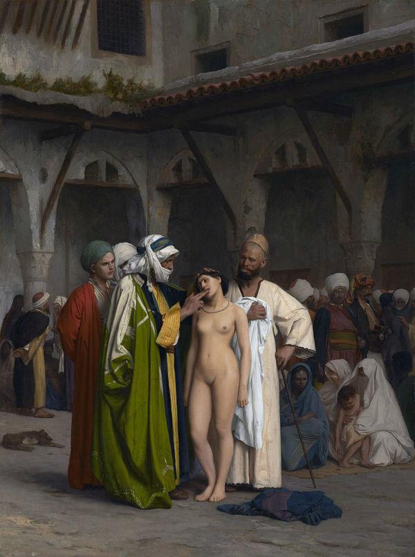 Рынок рабов - Жан-Леон Жером.jpg