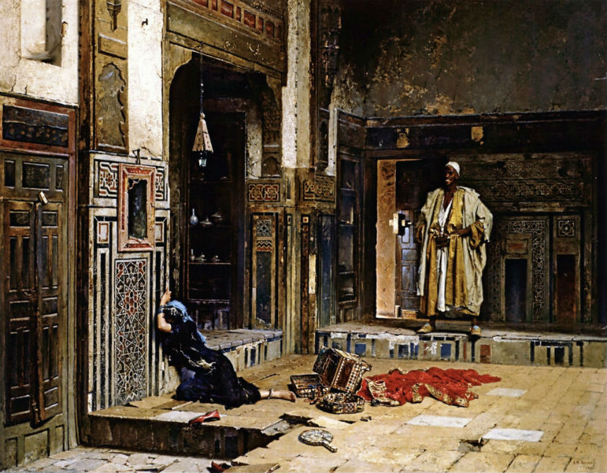 Купленная в гарем - Николай Александрович Руссов - 1891.jpg