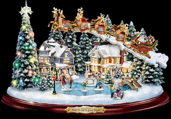 Томас Кинкейд - Рождественская статуэтка.jpg