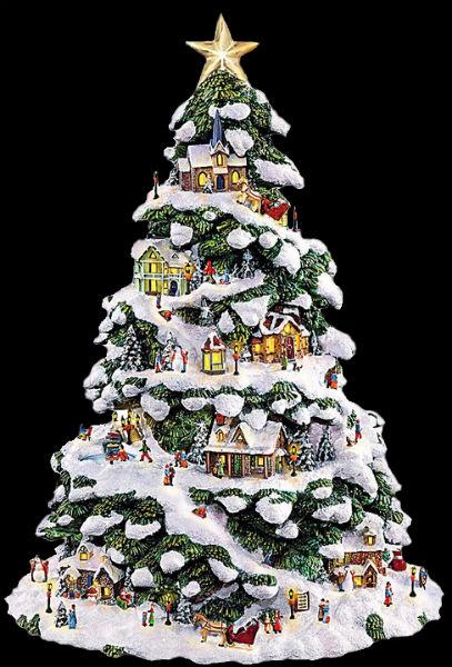 Томас Кинкейд - Рождественская ёлка.jpg