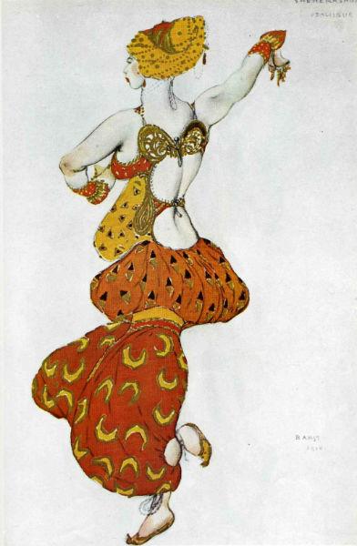 Эскиз костюма к постановке Шахерезеда Одалиска 2.jpg