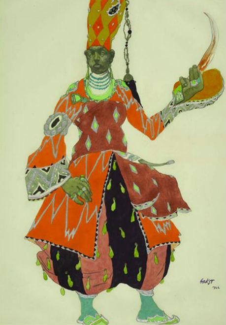 Эскиз костюма к постановке Шахерезада Евнух.jpg