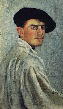Леон Бакст Автопортрет 1893.JPG