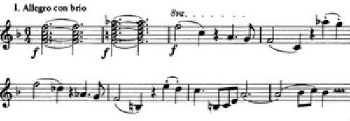 Брамс - Симфония 3 - 1 часть.jpg