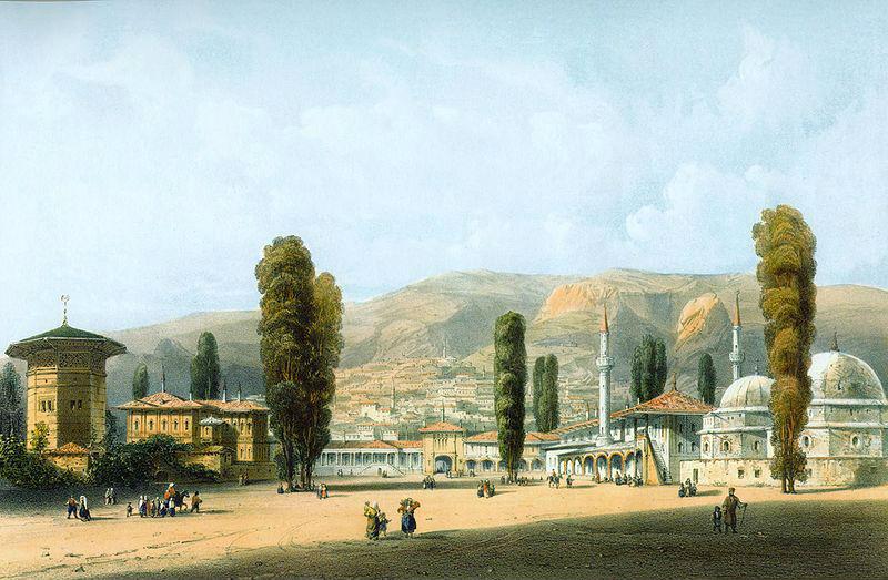 Карло Боссоли 1815-1884 Ханский дворец 1840-1842.jpg