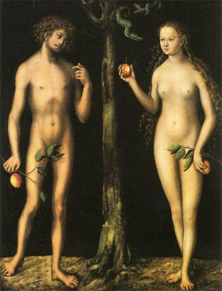 Лукас Кранах старший - Адам и Ева 1513.jpg