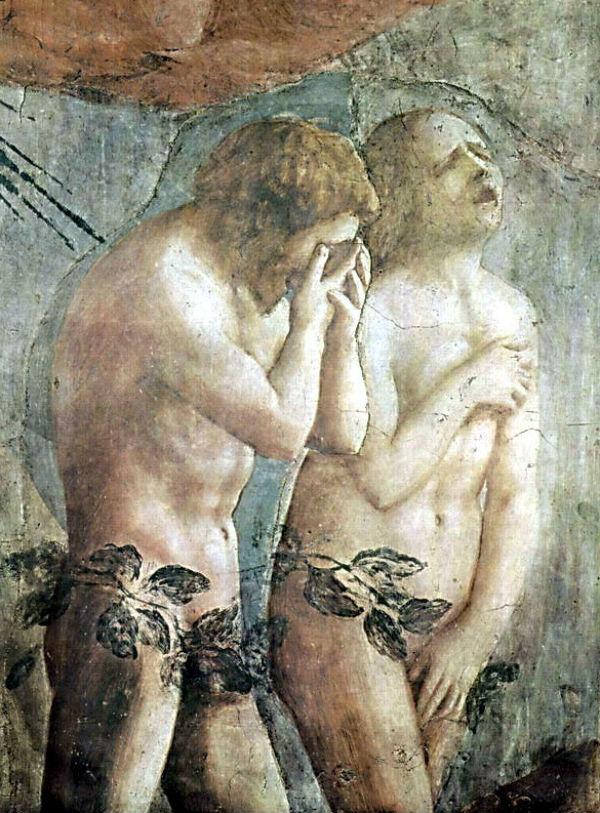 Мазаччо (1401-1428) - Адам и Ева.jpg