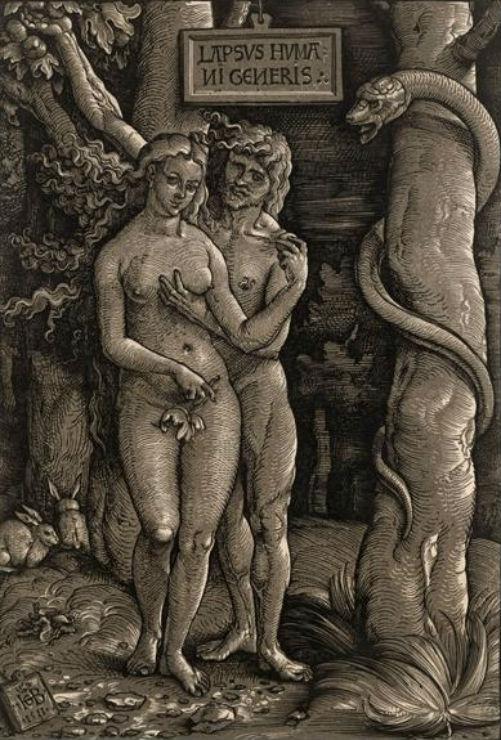 Ханс Бальдунг Грин от 1480 до 1485-1545) - Адам и Ева 1.jpg