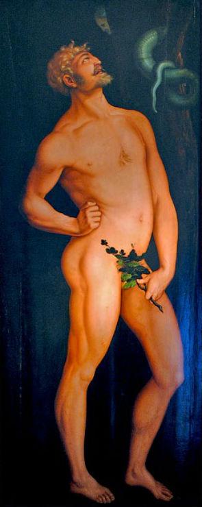 Ханс Бальдунг Грин от 1480 до 1485-1545) - Адам - Музей Изобразительных искусств Будапешта.jpg