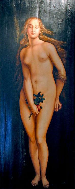 Ханс Бальдунг Грин от 1480 до 1485-1545) - Ева - Музей Изобразительных искусств Будапешта.jpg