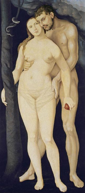 Ханс Бальдунг Грин от 1480 до 1485-1545) - Адам и Ева 1531.jpg