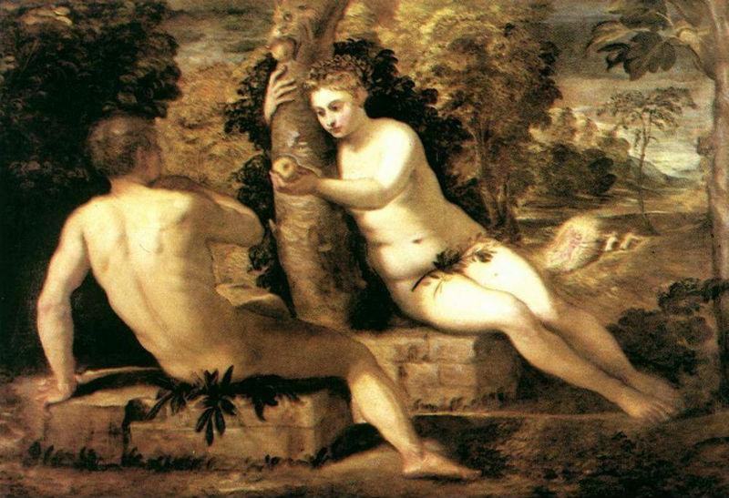 Тинторетто (1519-1594) - Адам и Ева.jpg