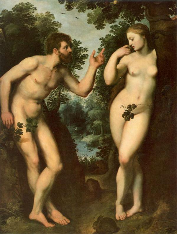 Рубенс (1577-1640) - Адам и Ева.jpg