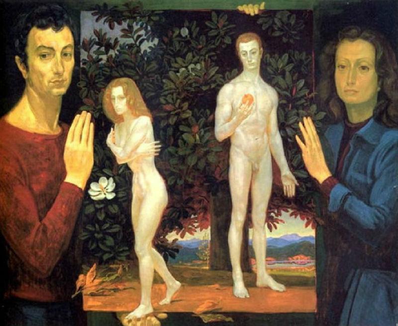 Дмитрий Жилинский (1927-2015) Адам и Ева.jpg