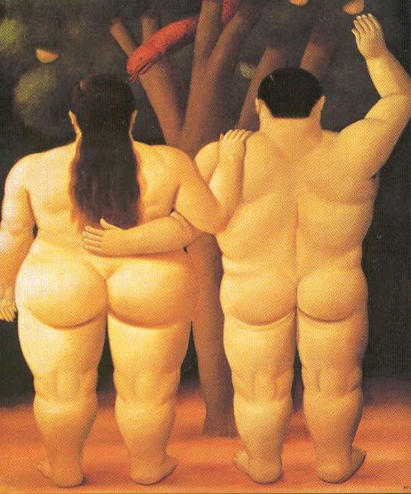 Фернандо Ботеро (родился 1932) - Адам и Ева.jpg