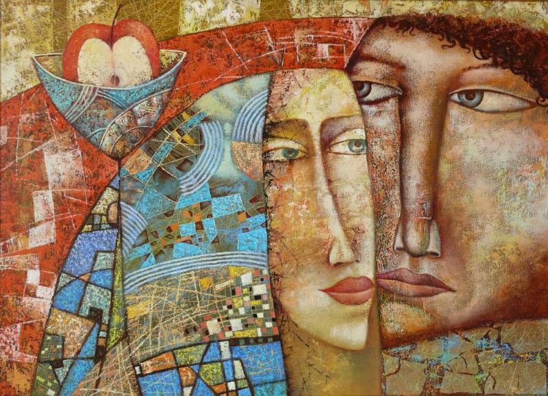 Александр Сулимов (родился 1963)- Адам и Ева.jpg