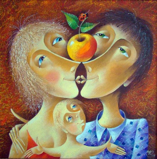 Юрий Мацик (родился 1956) - Адам и Ева.jpg