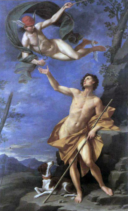 Donato Creti 1745 Гермес и Парис.jpg