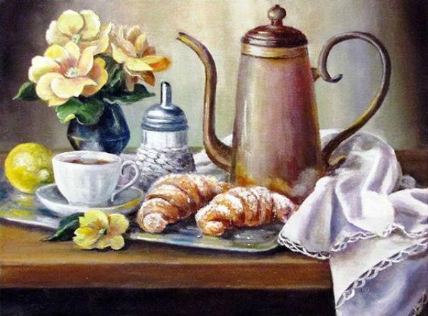 Воробьёва Ольга - Аромат утреннего кофе.jpg