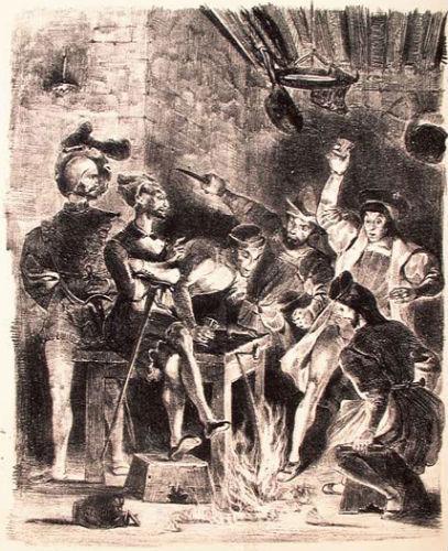 Пирующие студенты - литография 1828.jpg