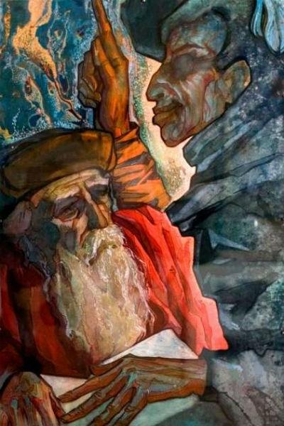 Эдуард Морозов - Фауст 2 - акварель.jpg