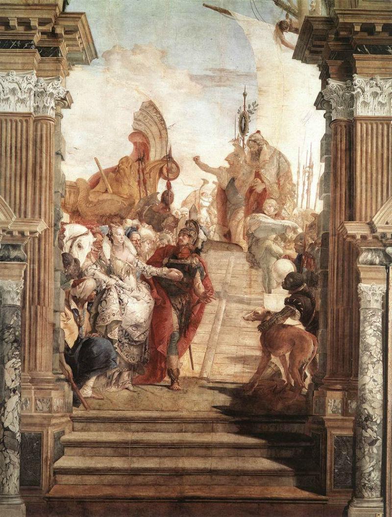 Тьеполо - Антоний и Клеопатра.jpg