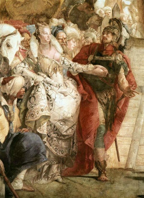 Тьеполо - Антоний и Клеопатра - фрагмент.jpg