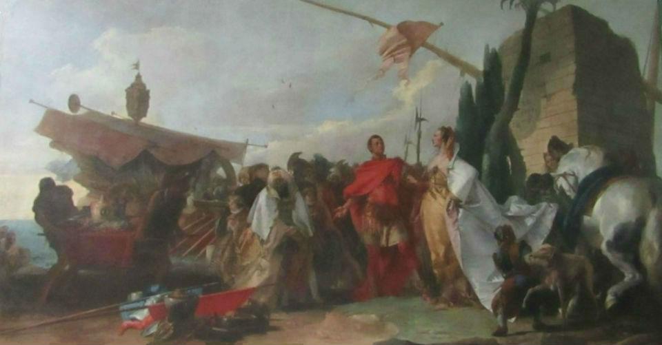 Тьеполо - Встреча Антония и Клеопатры.jpg
