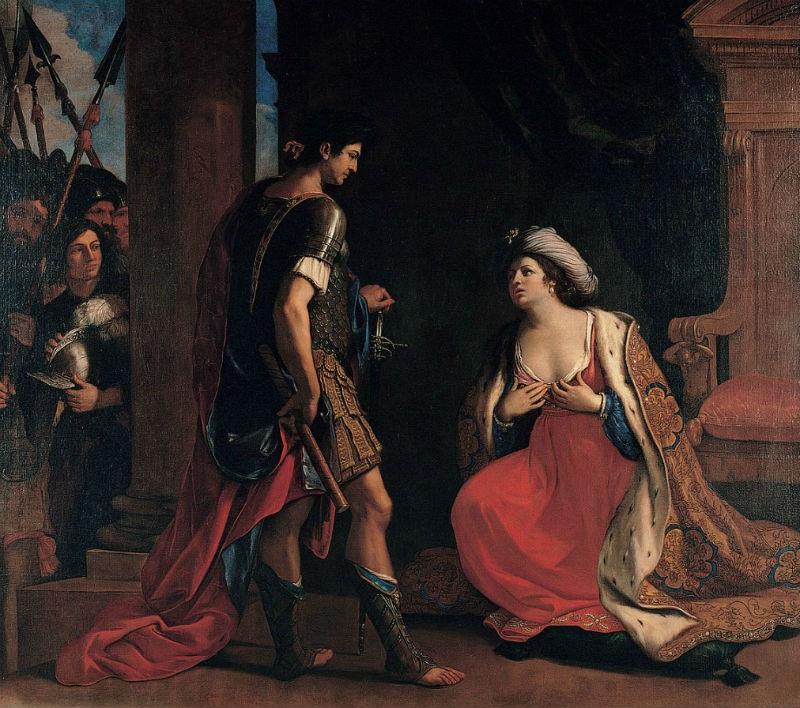 Guercino (1591–1666) Cleopatra and Octavian.jpg
