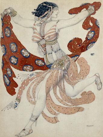 Бакст - балет Клеопатра - костюм Клеопатры.jpg