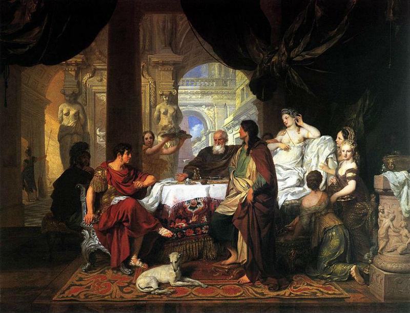 Жерар де Ларесс - Пир Клеопатры  Gérard de Lairesse - Cleopatra.jpg