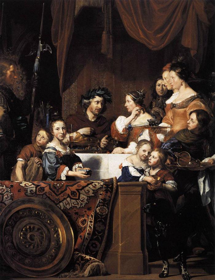 Ян де Брей - Антоний и Клеопатра.jpg