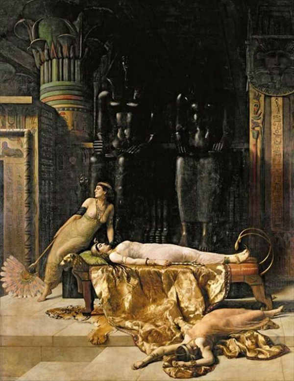 John Maler Collier The Death of Cleopatra.jpg