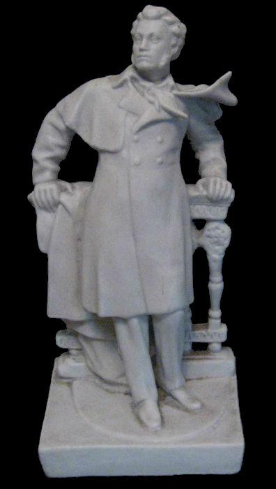М.Г.Лысенко - Пушкин - бисквит - 1957- Полонский завод художественной керамики.jpg