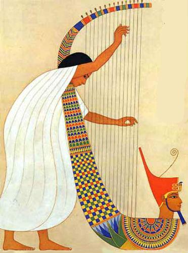Арфист - опера Аида 1954.jpg