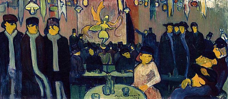 Эмиль Бернар - Кабаре в Париже.jpg