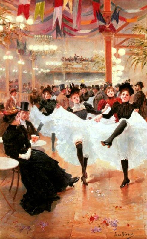 Жан Беро - Парижское кафе.jpg
