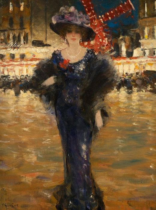 Victor Guerrier (1893-1968) - Devant le Moulin Rouge.jpg