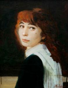 Алексей Кулаков - Портрет жены Наталии Папирной.jpg