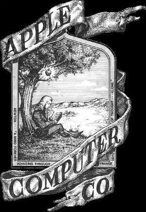 Первый логотип компании Apple.jpg